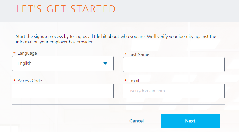Paycor Signup Steps