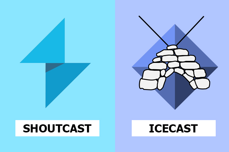 Icecast vs Shoutcast