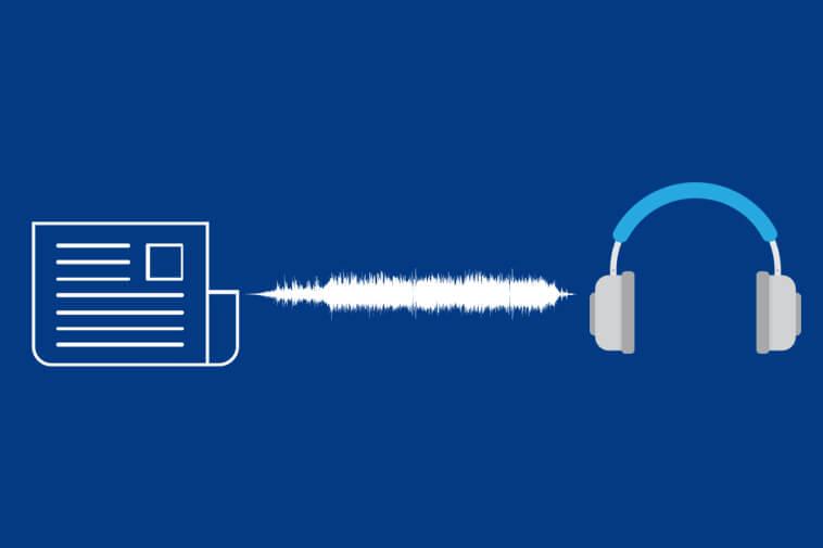 Convert Article into Audio