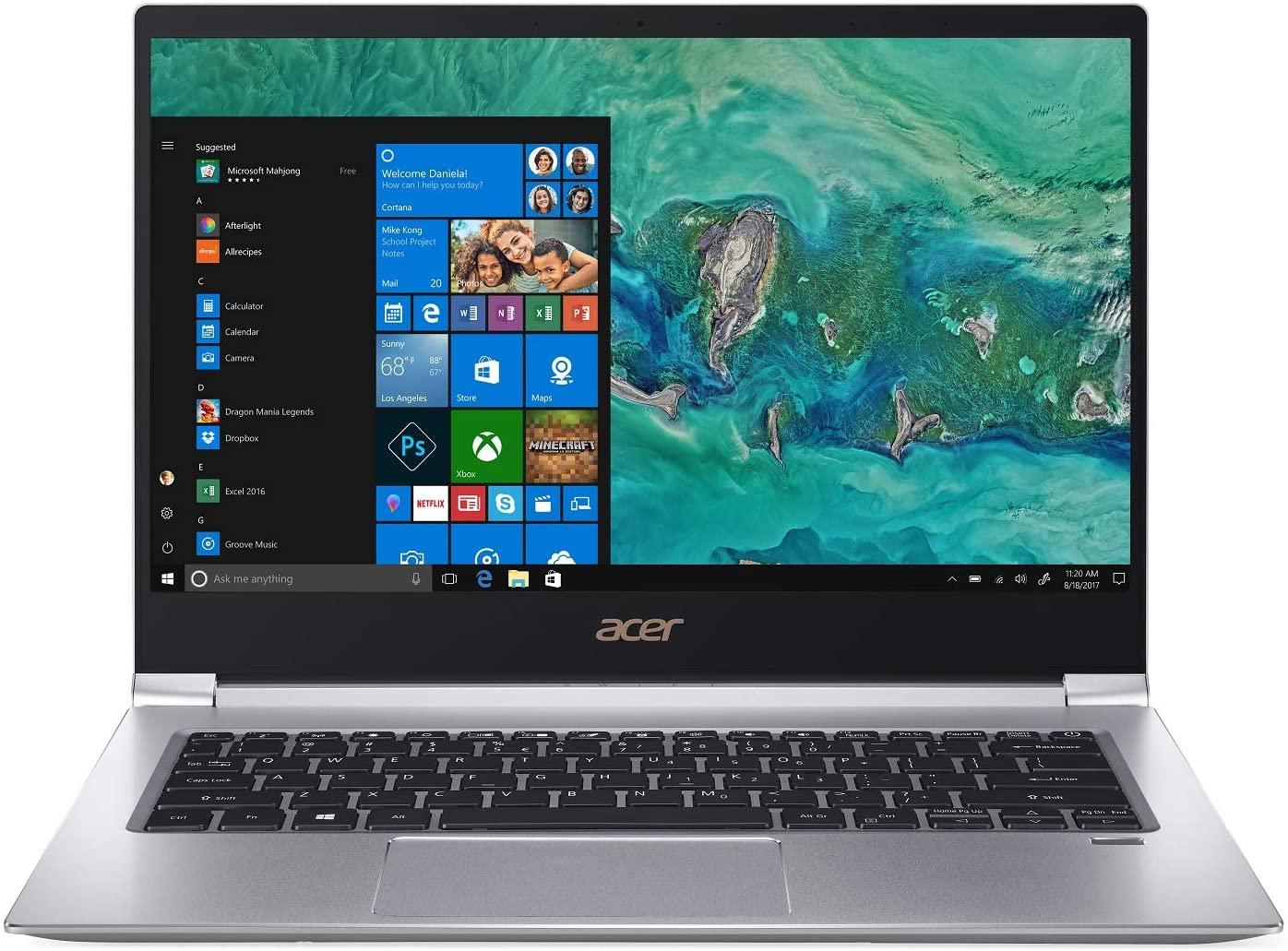 Acer Swift 3, i7 Laptop with MX150 GPU