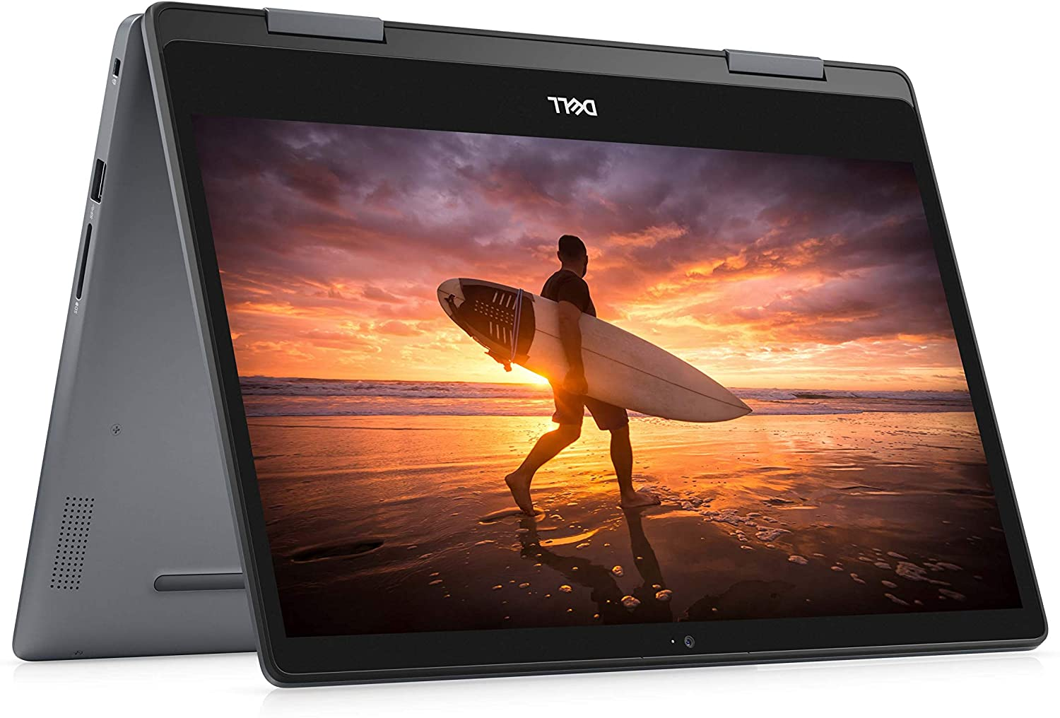 Dell Inspiron 14 Inch 2 in 1 Convertible Touchscreen Laptop