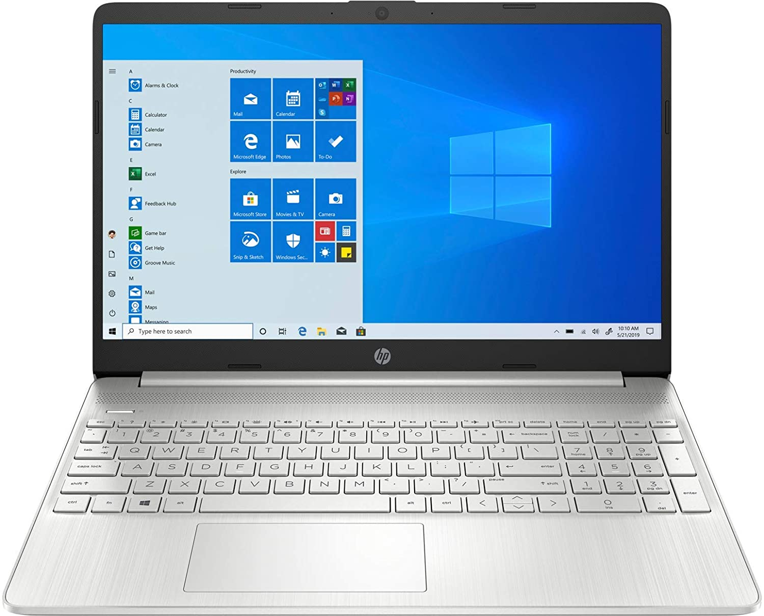 HP 15.6 Inch Touchscreen i7 Laptop Computer
