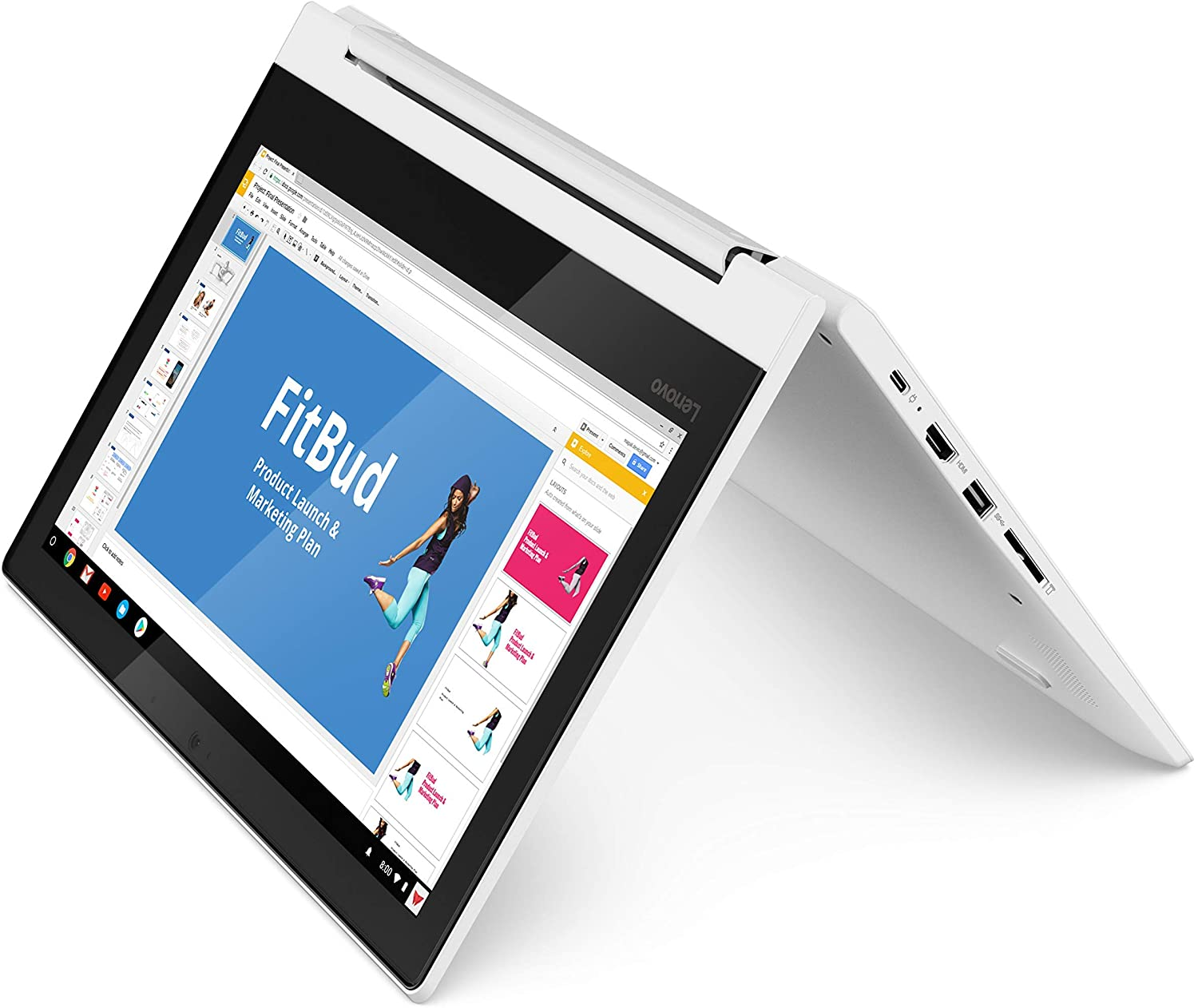 Lenovo Chromebook C330 2-in-1 Convertible Laptop with IPS display