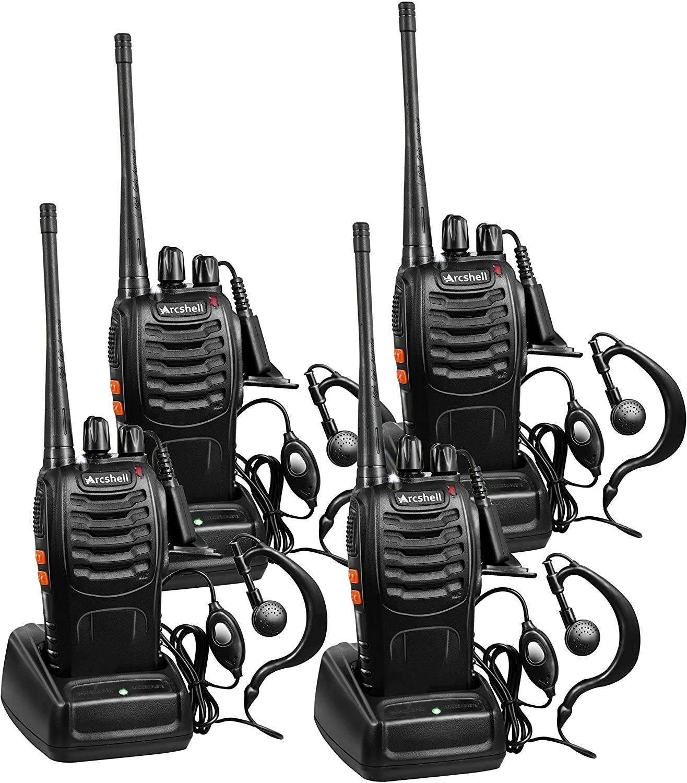 Arcshell Long Range Two-Way Radios