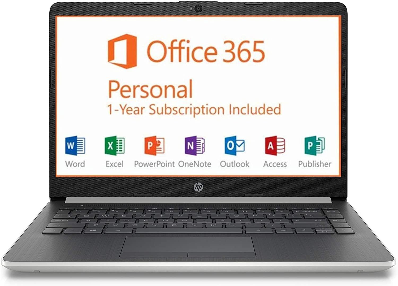 HP 14 Inch HD 4GB Ram Windows 10 Laptop