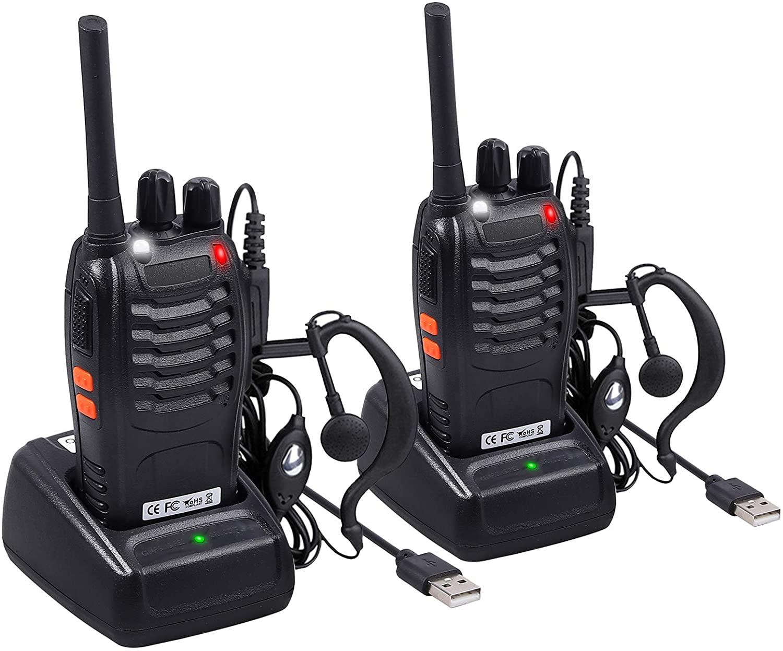 Neoteck 2 PCS Long Range Walkie Talkies