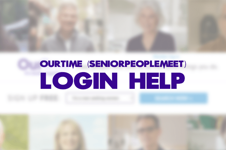 seniorpeoplemeet ourtime login help feature