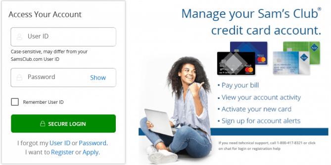 Sam's Club Credit Card Login Guide