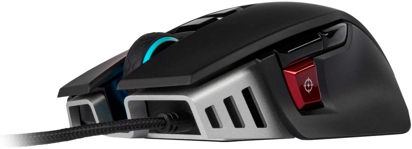 Corsair M65 RGB Elite – Wired FPS and MOBA Gaming Mouse