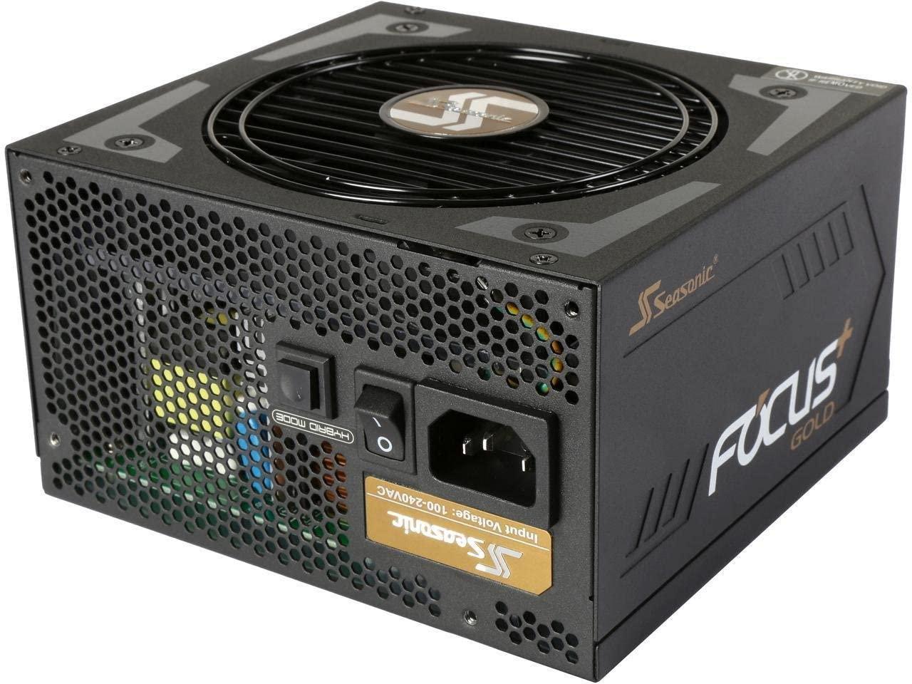 Seasonic FOCUS Plus 550 Gold SSR-550FX