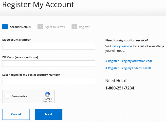 dominion energy account register signup guide