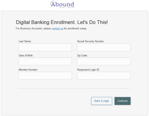 fkfcu.org abound credit union enroll process