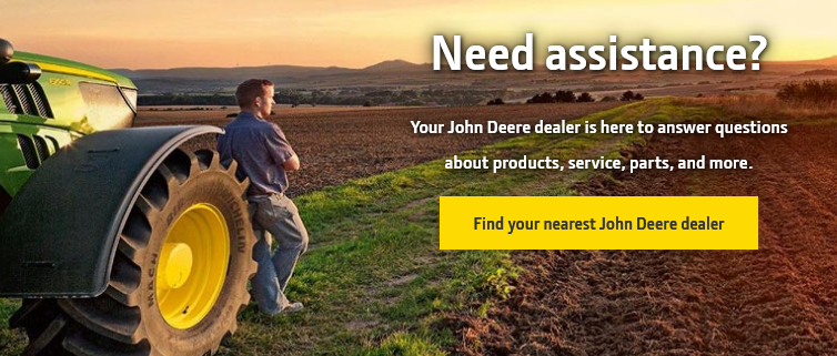 john deere account login
