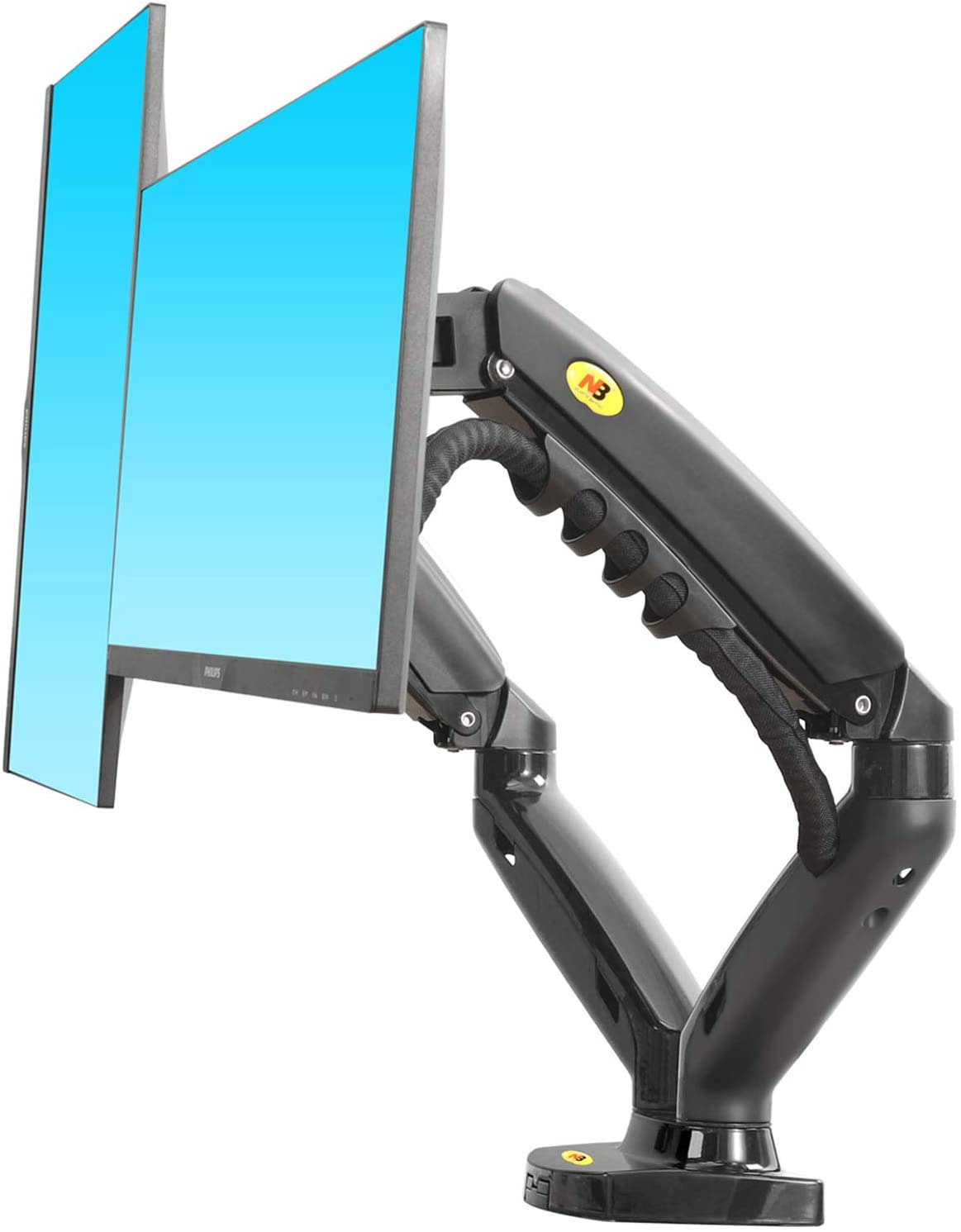 NB North Bayou Dual Monitor Desk Mount Stand