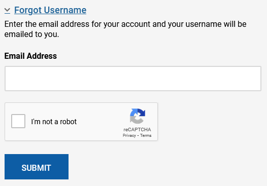 my lincoin forgot username