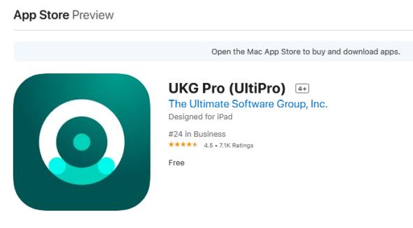 ukg pro ultipro login ios mobile app