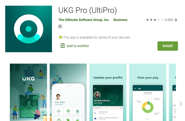 ukg ultipro login using mobile app