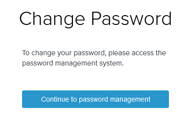 chs advanced learning change password
