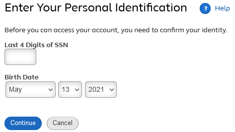target pay new user registration screen