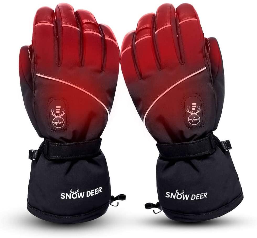 Electric Heated Gloves Waterproof Windproof