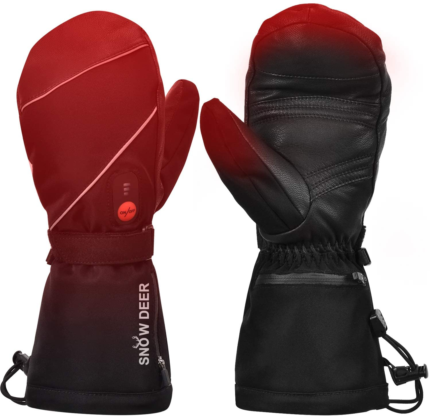Snow Deer Electric Rechargeable Battery Gloves