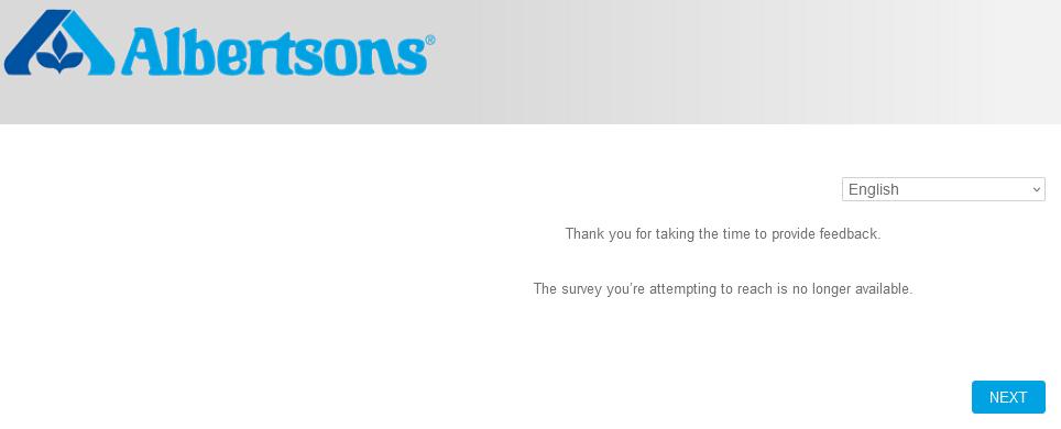 albertsons survey at albertsonsmarket.com