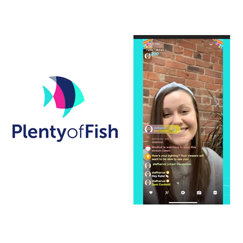 Plenty of Fish User with smile
