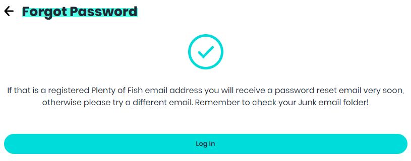 Retrieve POF Password