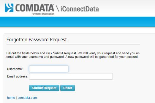 ComData Card Retrieve Password