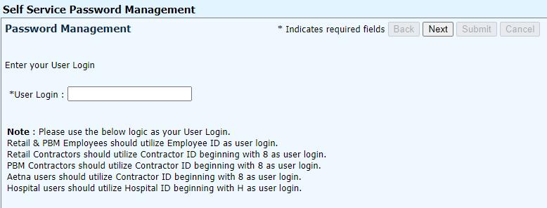 CVS Learnet Forgot Password Final Step